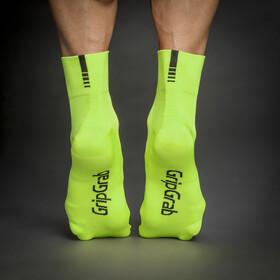 GripGrab Lightweight SL Kurze Socken yellow hi-vis